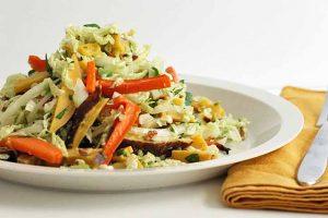 Autumn Napa Cabbage Salad