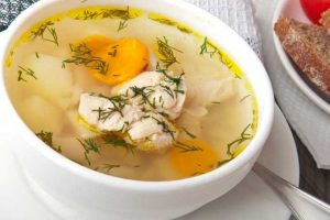 Chicken Soup With Dill