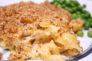 Homemade Chicken Mac 'n Cheese