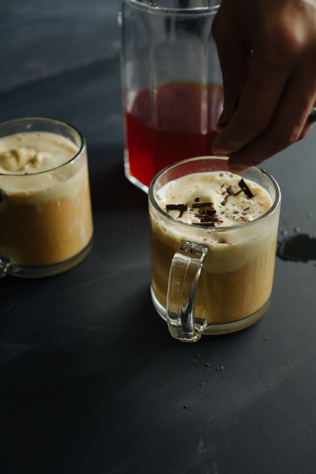 Let this rooibos affogato tingle your tastebuds with a unique mixture of sweet and tart. A spectacular dessert for the tea lovers out there!