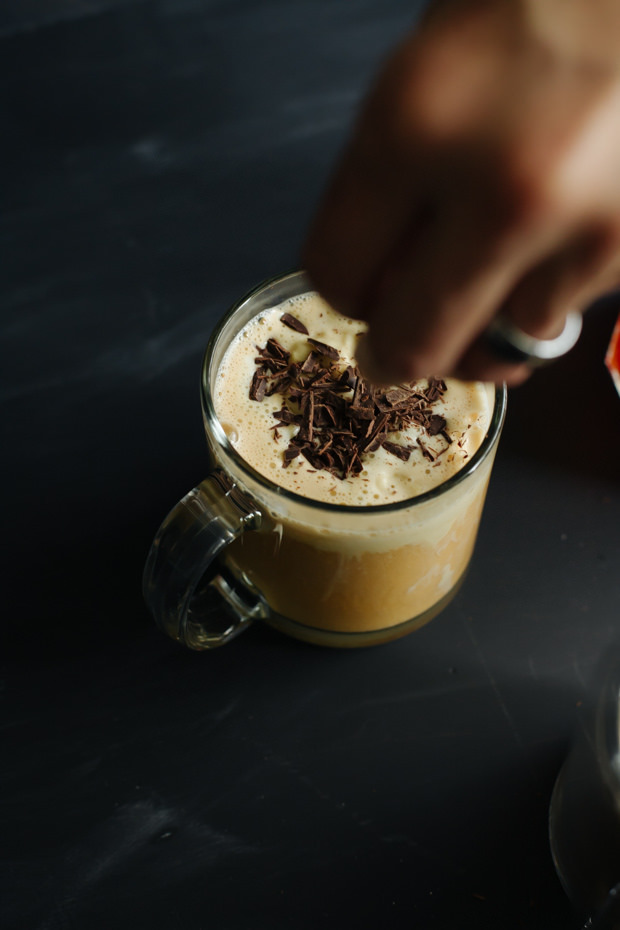 Affogatos are an Italian dessert drink normally made with coffee or espresso. Check out this version made with rooibos tea!
