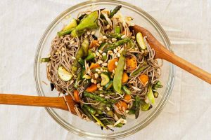 A Knock-Your-Socks-Off Grilled Veggie and Soba Noodle Salad Recipe
