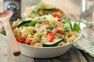 Grilled Zucchini and White Bean Pasta: A Side That's Good Enough to Be the Main Course