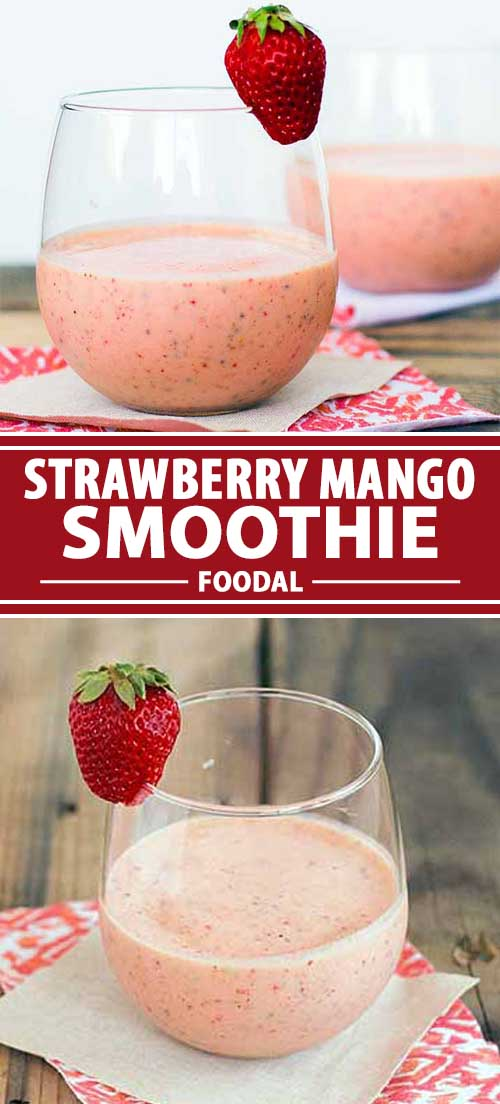 Strawberry Mango Smoothie: A Refreshing, Nutritious Beverage for a Hot Day!