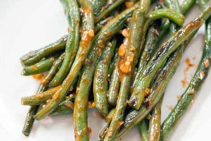 Spicy Garlic Green Beans: A Tasty, Healthy Side Dish