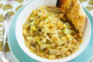 Curried Corn and Cabbage Soup: A Perfect Bridge Between Spring and Summer