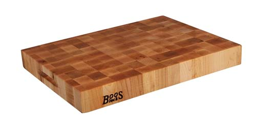 John Boos Reversible End Grain Maple Chopping Block 20 By 15 2 25 Inch