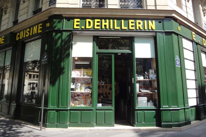 E. Dehillerin Professional Chef store in Paris