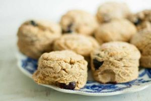 Blueberry Whole-Grain Kamut Scones