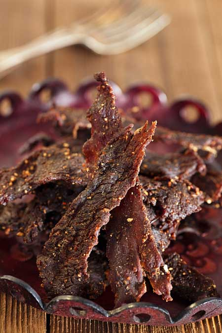 Homemade dehydrated beef jerky | Foodal.com