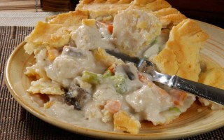 Make a Wonderful Chicken Pot Pie in Your Crockpot
