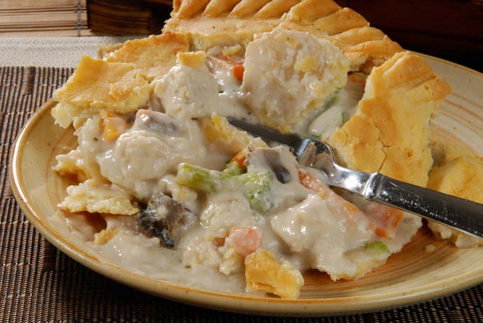 Make A Wonderful Chicken Pot Pie In Your Crockpot Foodal