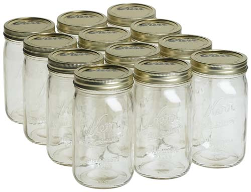 kerr wide mouth canning jars
