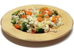 Pasta with Alfredo Sauce & Broccoli