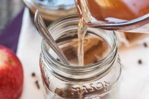 Homemade Caramel Apple Cider (with a Vegan Option): It's Like Liquid Fall!