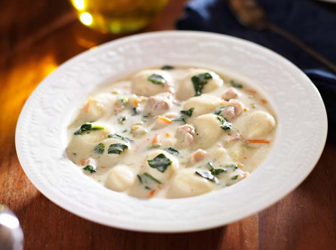 The Best Italian Gnocchi Chicken Soup Recipe Foodal