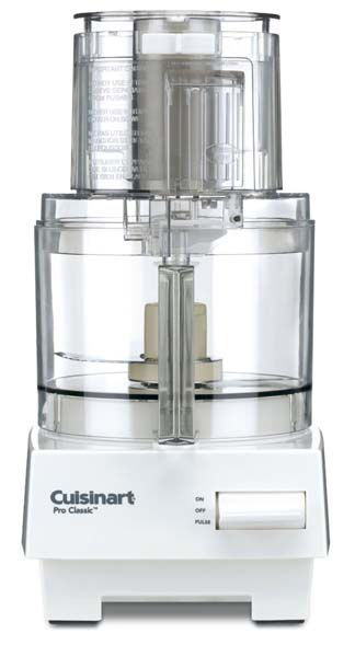 Cuisinart DLC-10S Pro Classic 7-Cup Food Processor is a great kitchen accessory to add to a wedding registry