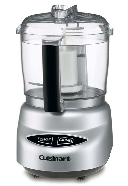 Cusinart DLC-2A Mini Prep Plus 3-Cup Food Processor on white, isolated background