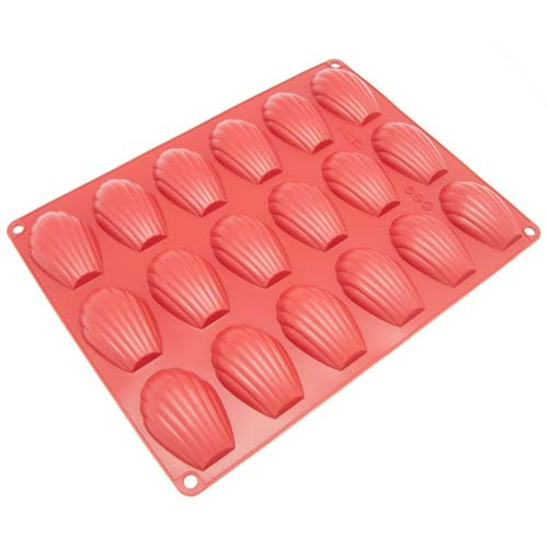 Freshware 18 Cavity Silicone Madeleine Pan
