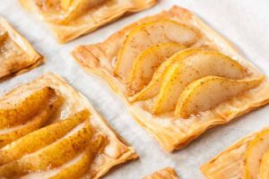 Pear and Honey Phyllo Tarts (Dairy Free)