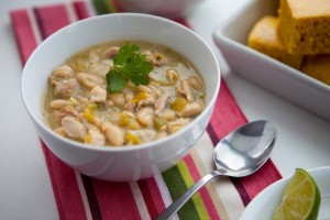 White Chicken Chili in Your Crock Pot