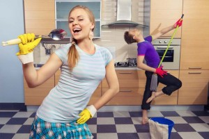 Exercise In The Kitchen and Burn Calories
