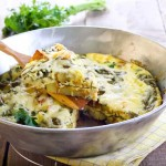 frittata with potatoes and spinach made in rice cooker | Foodal.com
