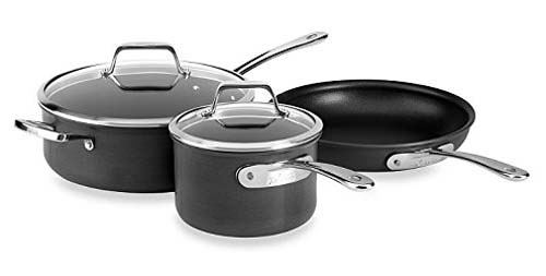 All Clad B3 Hard Anodized Bonded Induction Aluminum 5 Piece Cookware Set