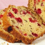 "This Cranberry Nut Bread recipe from Foodal.com is a great way to use in-season ingredients this fall and makes the perfect Thanksgiving and Christmas ""bread gift."" It remains very moist thanks to copius amounts of orange juice and orange zest. #foodal"