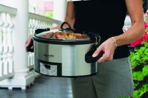 "The ""Cook and Carry"" Oval Slow Cooker: Not Your Grandma's Crock-Pot"