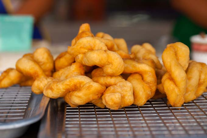 Deep Fried Twisted Biscuit Dough - Foodal