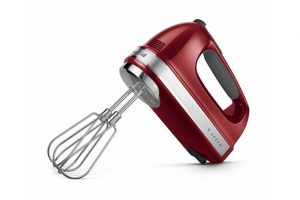 The KitchenAid 9-Speed Hand Mixer