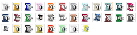 All Kitchenaid Colors kitchenaid artisan ksm150 standmixer review | foodal