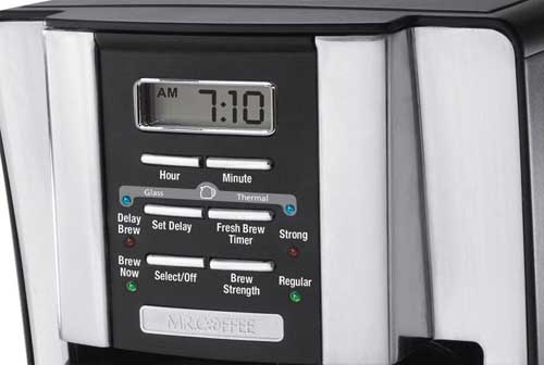 Mr. Coffee BVMC-SJX33GT 12-Cup Programmable Coffeemaker Digital Display | Foodal