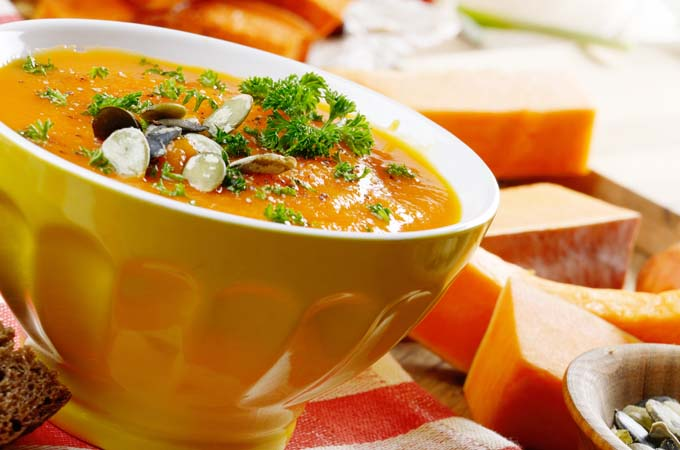A rustic pumpkin soup perfect for the fall - Foodal.com