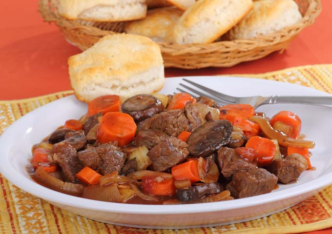 Stew and Biscuits