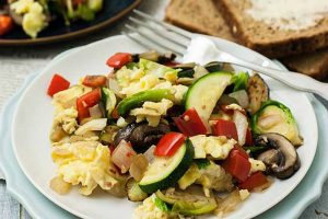 Super Veggie Breakfast Scramble (Gluten-Free)
