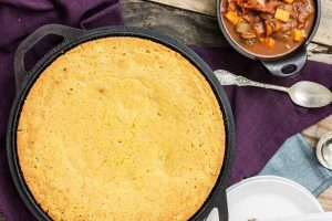 Vegan Roasted Jalapeno Cornbread