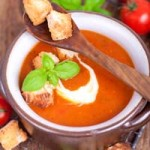 Bread and Tomatoe Soup | Foodal.com
