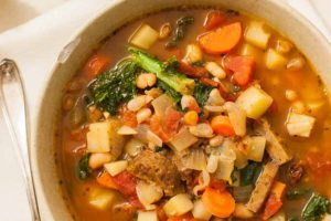 Italian Harvest Soup (Vegan Option, Gluten-Free)