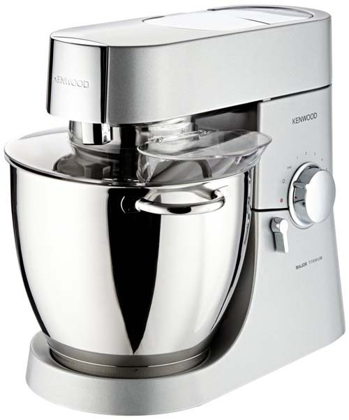 Kenwood 7-qt Major Stand Mixer - Stainless | Foodal.com
