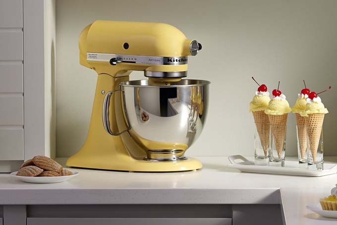 kitchen aid artisan 5quart stand mixer review foodalcom - Artisan Kitchenaid Mixer