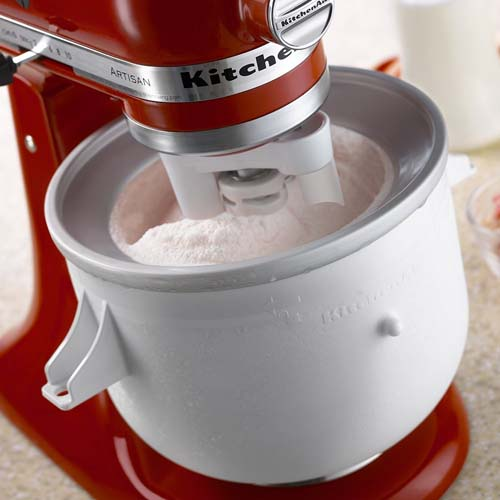 KitchenAid 2 Quart Ice Cream Maker Stand Mixer Attachment | Foodal.com