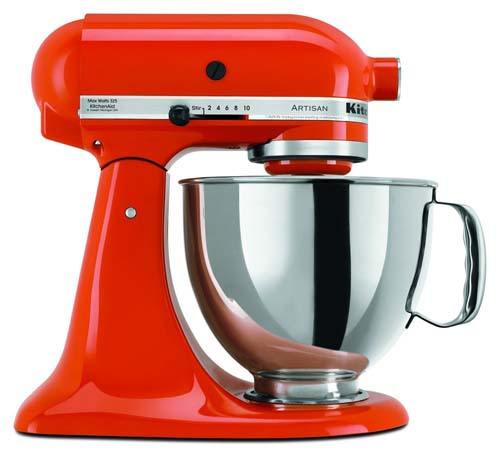 KitchenAid KSM150PS 5 Qt Artisan Series Stand Mixer| Foodal.com