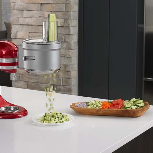 KitchenAid KSM2FPA Food Processor with Commercial Style Dicing Kit Review | Foodal.com