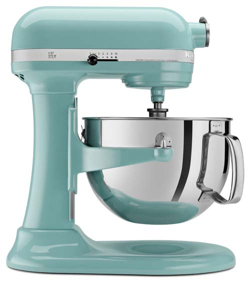 KitchenAid Professional 600 Series 6-Quart Stand Mixer in Martha Stewart Blue | Foodal.com