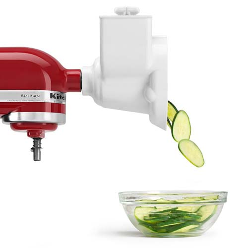Review of the KitchenAid RVSA Slicer-Shredder Attachment for Stand Mixers | Foodal.com