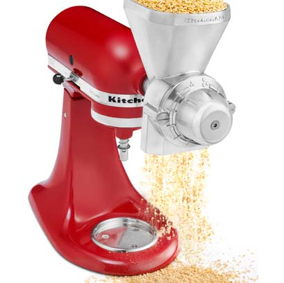KitchenAid Stand Mixer Grain Mill Attachment Review | Foodal.com