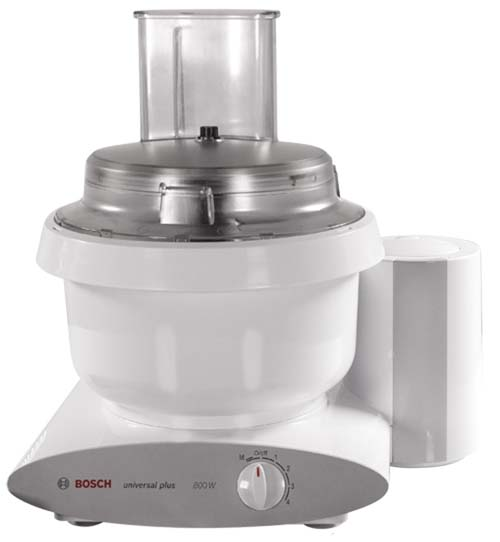 Large Slicer Shredder Attachment for Bosch Universal Mixers | Foodal.com
