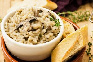 Vegan Mushroom and Herb Risotto